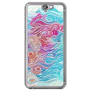Loud Universe HTC One A9 Waves 1 Design Transparent Edge Case - Multi Color