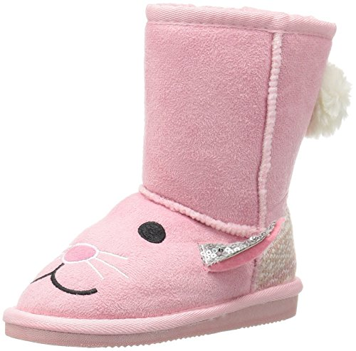 Price comparison product image Muk Luks Girls' Bonnie Bunny Fashion Boot,  Pink,  12 M US Little Kid