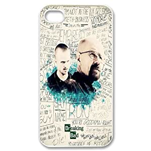 Poison king Heisenberg (Breaking Bad) poster phone Case Cove For Iphone 4 4S case cover JWH9231320