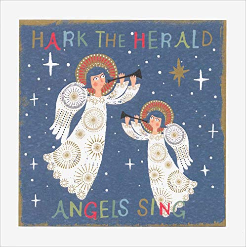 (Hark the Herald Angels Christmas Cards - Set of 8 Cards)