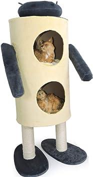 Gato Gatito Árbol Robot Rascarse Barril Actividad Centro ...
