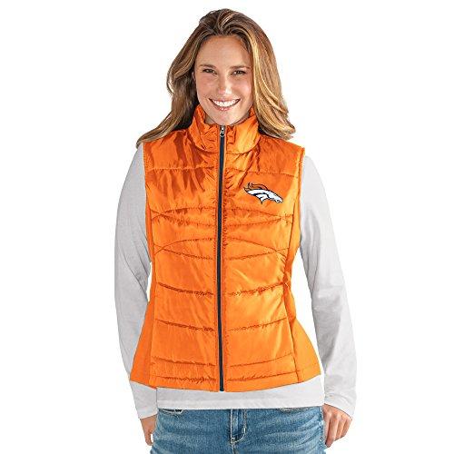 NFL Denver Broncos Women's Wing Back Vest, Small, (Bronco Vest)