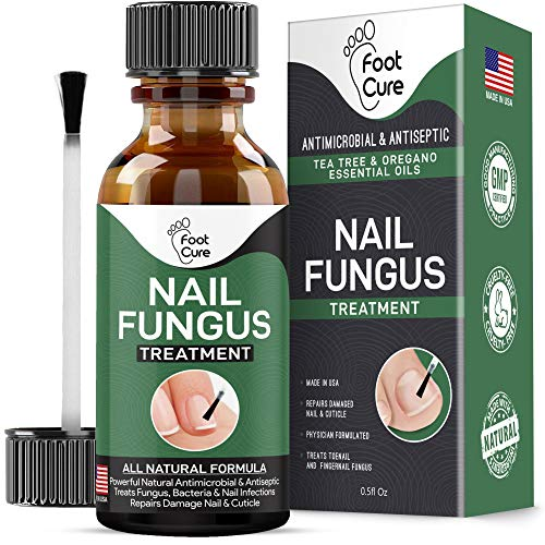 Foot Cure Extra Strong Nail & Toe Fungus Treatment – Made In USA, Best Nail Repair Set, Fungi Fingernail & Toenail…