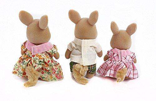 Calico Critters Hopper Kangaroo Family