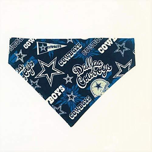 Dallas Cowboys Blue Pet No-Tie Bandana