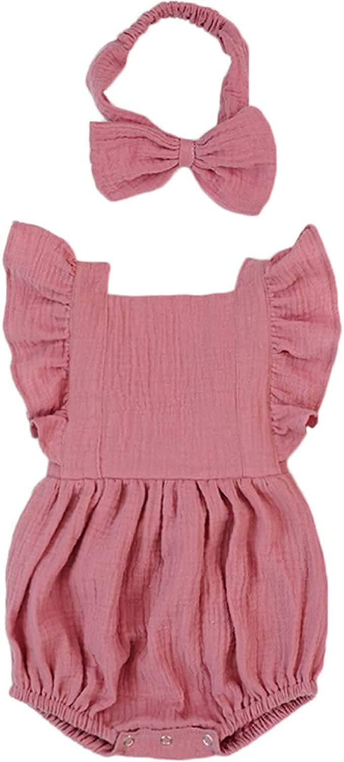 BABY Girl QUILTED Jumpsuit ORGANIC Cotton 6-9 Months all-in-one Rompers pink