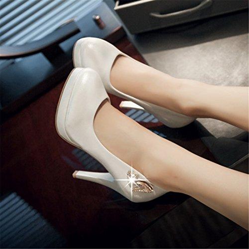 Zapatos Tacones Zapatos Sandalette white Tacones Altos de Damas Damas Zapatos Zapatos Diamante DEDE de Altos Honor Zapatos Novia Faqy1FWpc