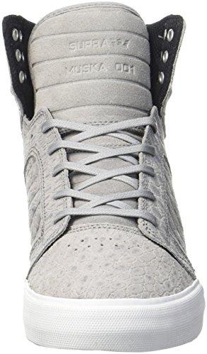Supra Skytop Medium Sneaker Grau / Weiß 2