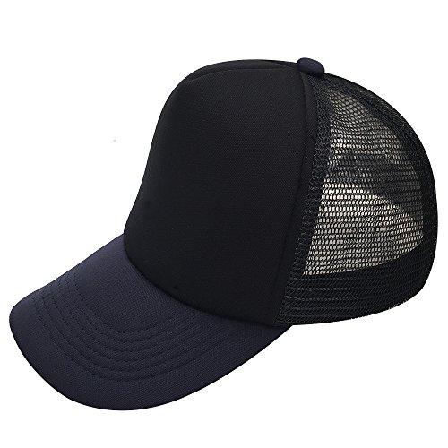 oriental spring - Gorra de béisbol - para Hombre Negro Black/Navy Bill Medium