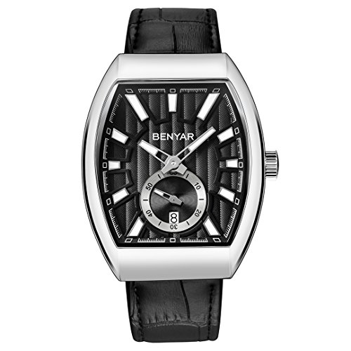 BENYAR Watches Men s Fashion Business Quartz Watch with Classical Casual Wrist Watch for Men