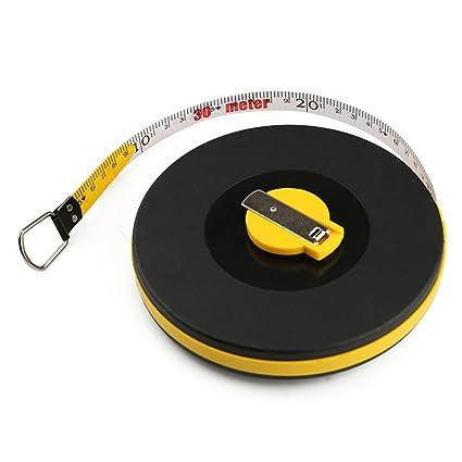 wintape topógrafos regla de cinta larga de fibra de vidrio cinta ...