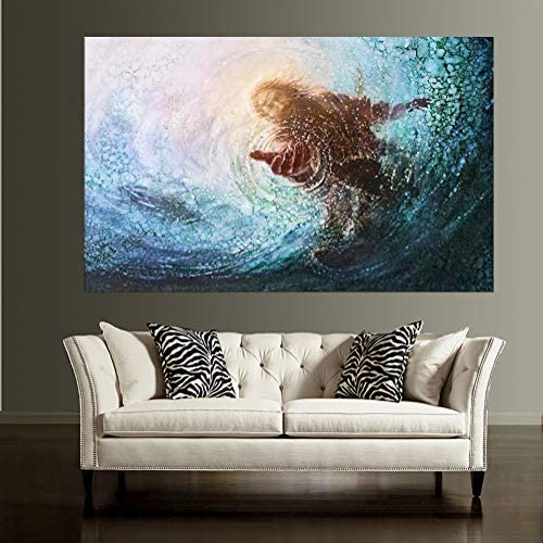 Jesus Picture Framed Wall Decor The Hand of God Wall Art