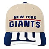 Outerstuff NFL NFL New York Giants Youth Boys Retro Style Logo Structured Hat Dark Royal, Youth One Size