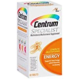 Centrum Specialist Energy Complete Multivitamin Supplement (60-Count Tablets)