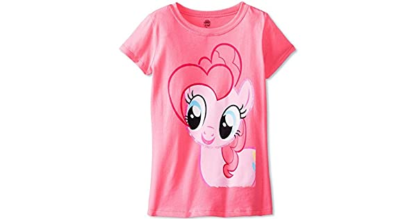 Amazon.com: My Little Pony GirlsPinkie Pie Girls T-Shirt ...