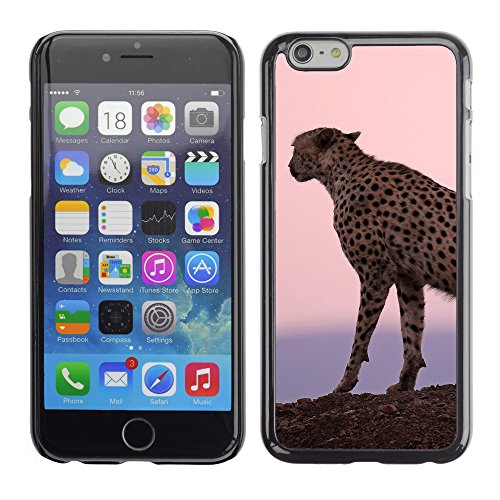 Premio Sottile Slim Cassa Custodia Case Cover Shell // V00003139 l'habitat du guépard // Apple iPhone 6 6S 6G PLUS 5.5""