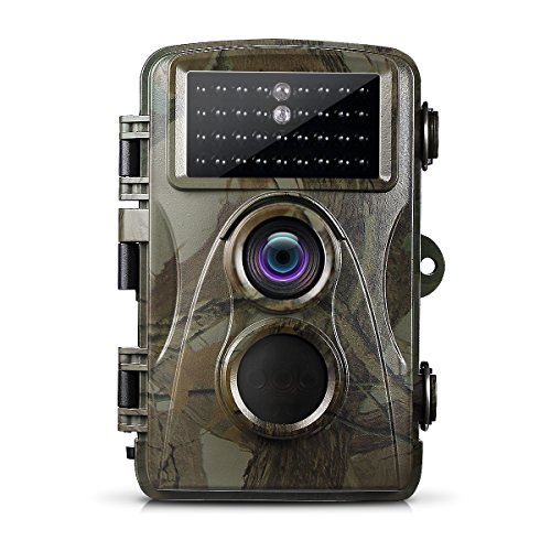 Ailink Game Camera 12MP 720P Trail Camera 65ft Infrared Night Vision 34 LEDS 0.2 Pre Speedy Trigger IP66 Waterproof with 12 Month Standby Time for Wildlife Scouting Hunting