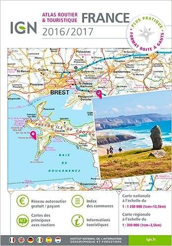 Atlas routier & touristique France
