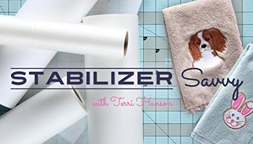 4 Freestanding Lace Machine Embroidery (Stabilizer Savvy)