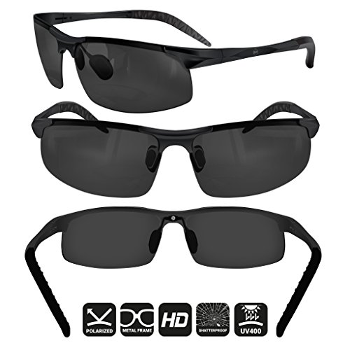 dc466f1939c BLUPOND Sports Sunglasses for Men Women - Anti Fog Polarized Shooting  Safety Glasses for Ultimate