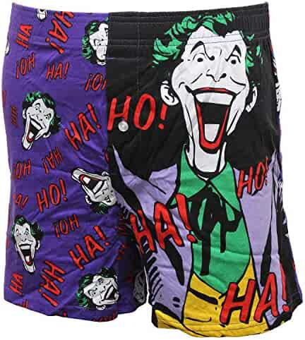 47365dcc5e3e71 Bioworld Batman Joker Vintage Classic Retro Character Ha! HA! Mens Boxer  Briefs Shorts Boxers