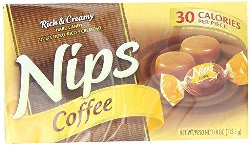 Nips Hard Candy Coffee 4 OZ (Pack of 24)