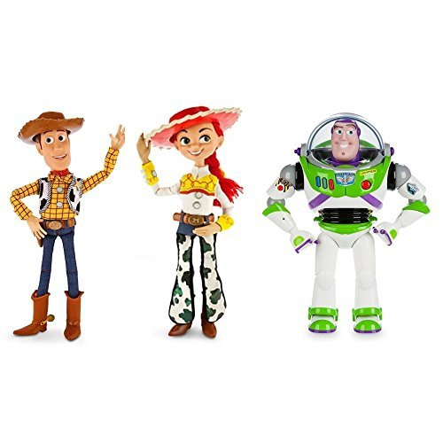 Toy Story Talking Action Figures - Woody, Jessie & Buzz Lightyear – Disney -