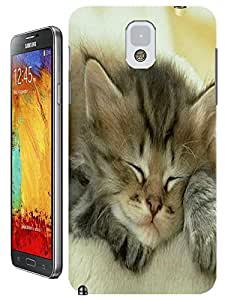Lovely Cute Cats characteristic design new Cell phone cases for Samsung Galaxy N3 wangjiang maoyi