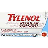 Tylenol Regular Strength Acetaminophen Tablets, 325 mg