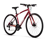Raleigh Alysa 2 Women's Urban Fitness Bike, 13' /XS Frame, Red, 13' /...