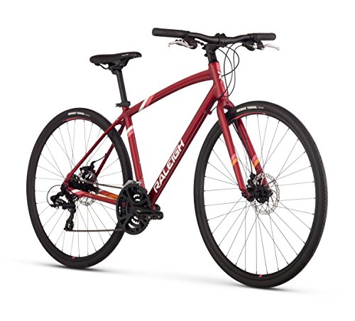 "Raleigh Alysa 2 Women's Urban Fitness Bike, 13"" /XS Frame, Red, 13"" / X-Small"