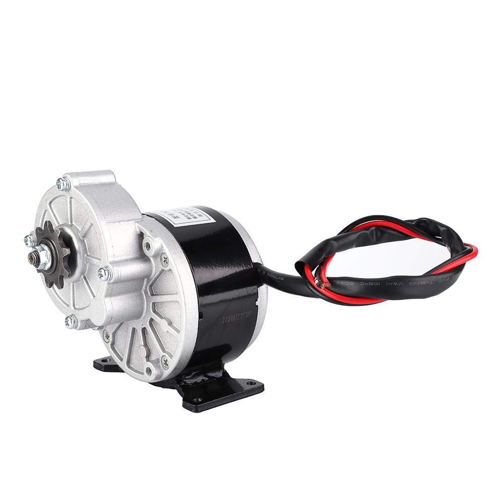 Fishlor Untersetzungs-Motor Fahrrad-Metalluntersetzungs-Motor /änderte Teile 24V 250W Metal Gear Reduction Motor