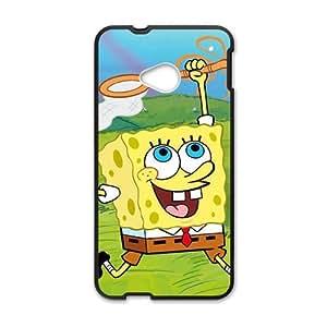 Lovely SpongeBob Cell Phone Case for HTC One M7