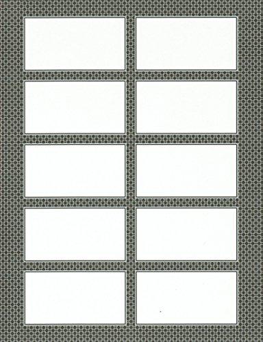 (Gartner Studios® Gray Business Cards, 3 1/2