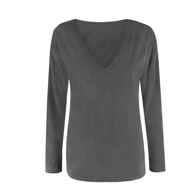 Loose Neck 50 V off Sweater Rafago TopGreysg MpqzVGUS
