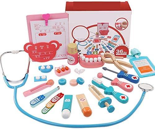L&Z Doctor Kit Estuche médico Enfermera Juguetes Médicos Juego de Juguetes Médico Juego de médicos Doctores niños Juego de Enfermeras Kit de Juego para niños niñas(20psc): Amazon.es: Deportes y aire libre