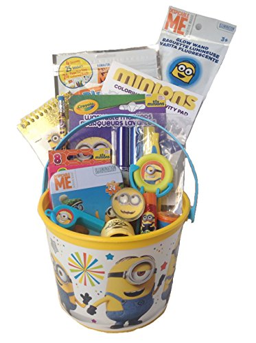 Despicable Me Minions 15 Piece Small 5″ Bucket of Fun Gift Set