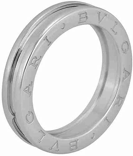 Amazon Com Bvlgari B Zero1 18kt White Gold Ladies Ring Size 9