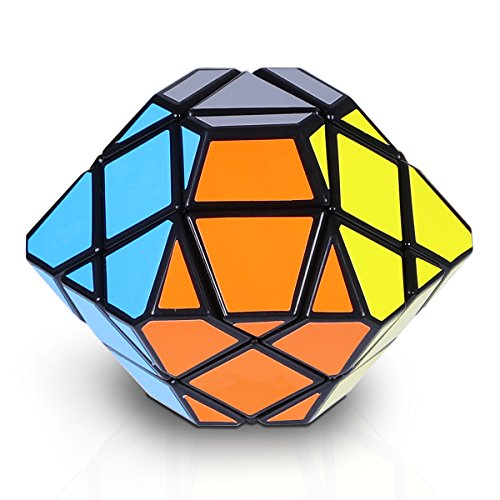 Rubix Cube Costumes (Speed Cube, Jakpak Speed Puzzle Cube Smooth Adjustable Tensioning Cube Magic Cube Twisty Puzzle Game for Kids Brain Intellectual Development Speedcubers Puzzles Toys for Children, Black)
