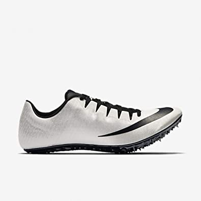 official photos aedc0 2e3e0 Nike Zoom Superfly Elite Unisex Track 7 Field Spikes (6, White Black-