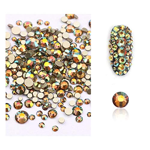 1 Pcs Mix Glass Strass Stones Nail Art Beads Bright Popular Nails Crystal Kits Painting Pen Brushes Stamper Plate Tools Professional French Unicorn Halloween Decoration Polish Women Tips, Type-01 -
