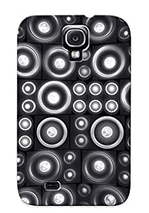 Defender Case For Galaxy S4, Speakers Pattern, Nice Case For Lover's Gift