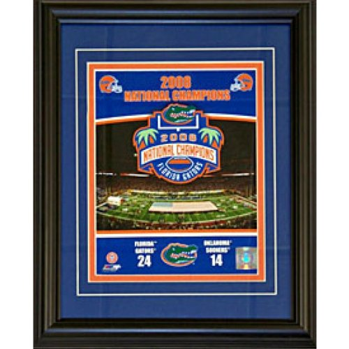 2008 Gator (Florida Gators 2008 National Champions Framed 8x10 Photo)