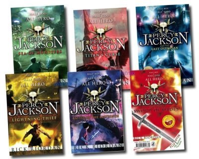 Percy Jackson Collection 5 Books Set Pack pdf