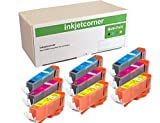 Inkjetcorner 9 Pack Color (3 Cyan, 3 Magenta, 3 Yellow) Compatible Ink Cartridges for CLI-271XL CLI-271 for Series MG5720 MG6820 MG7720 TS6020 TS5020 TS8020 TS9020