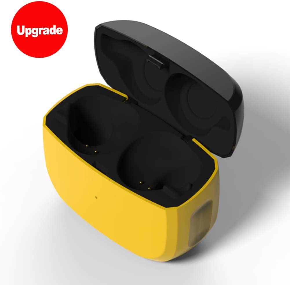 Replacement Charging Case Compatible With Jabra Elite Active 65t And Jabra Elite 65t Earbuds Protective Substitute Cover With 500mah Built In Battery Charger Case Only Earbuds Not Included Amazon Ca Electronics