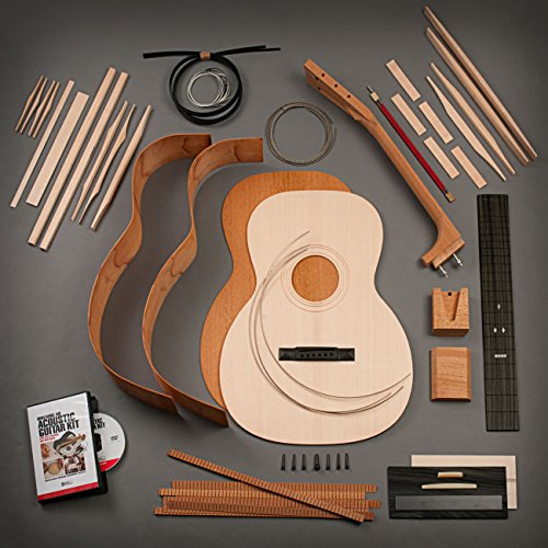 StewMac Build Your Own Triple-O Acoustic Guitar Kit with Mahogany Back & Sides, Sitka Top, Bolt-on Neck