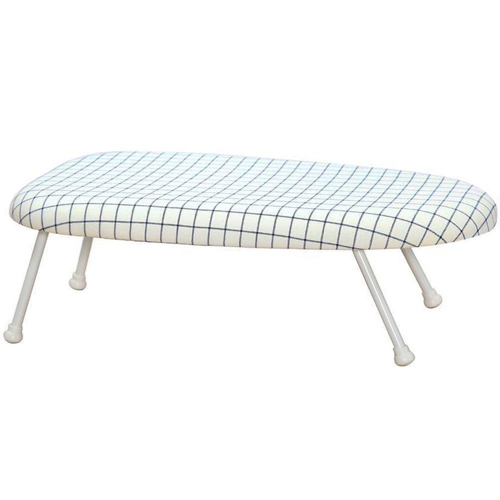 StorageManiac Tabletop Ironing Board with Folding Legs, Folding Ironing Board with Cotton Cover FBA_STM1001000002