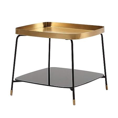 FxsD Mesas Mesa de café, 201 estructura de acero inoxidable ...