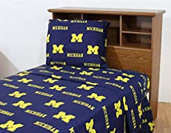 University of Michigan Wolverines Sheet ...